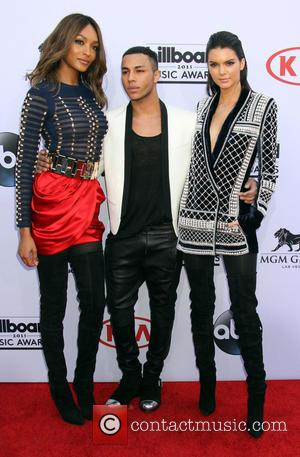 Jourdan Dunn, Olivier Rouseing and Kendall Jenner - 2015 Billboard Awards held at the MGM Grand Garden Arena inside MGM...