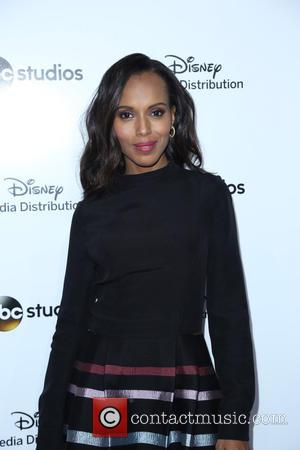 Kerry Washington - 2015 Disney Media Distribution International Upfronts - Arrivals at Disney - Los Angeles, California, United States -...