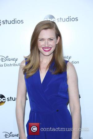 Mireille Enos - 2015 Disney Media Distribution International Upfronts - Arrivals at Disney - Los Angeles, California, United States -...