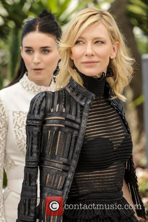 Rooney Mara and Cate Blanchett