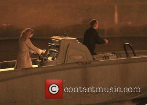 Daniel Craig - Filming for some of the final scenes of James Bond 'Spectre' take place on the River Thames...