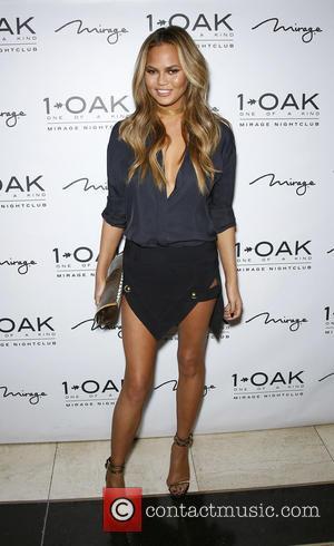 Chrissy Teigen - 1 OAK Nightclub Inside Mirage Hotel & Casino Welcomes John Legend and Chrissy Teigen For A Special...