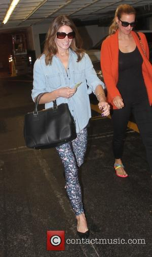 Ashley Greene - Ashley Greene at a nail salon in Beverly Hills - Beverly Hills, California, United States - Monday...