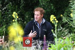 Prince Harry - The Chelsea Flower Show 2015 - London, United Kingdom - Monday 18th May 2015