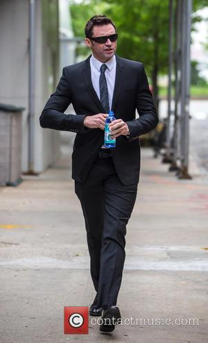 Australian actor Hugh Jackman who recently starred in the movie 'Pan' as Black Beard was spotted wearing a suit as...