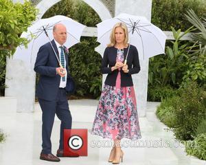Joe Swift and Sophie Raworth