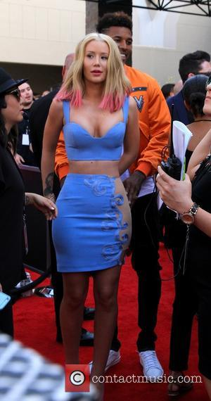 Iggy Azalea and Nick Young - 2015 Billboard Music Awards at Billboard Music Awards - Las Vegas NV, United States...