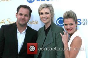 Kyle Bornheimer, Jane Lynch and Maggie Lawson