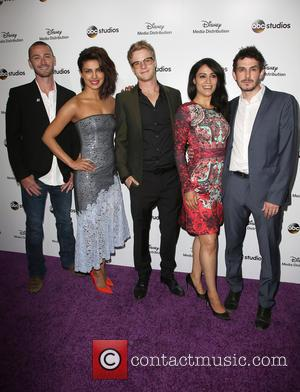 Jake Mclaughlin, Priyanka Chopra, Graham Rogers, Yasmine Al Massri and Tate Ellington