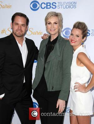 Kyle Bornheimer, Jane Lynch and Maggie Lawson
