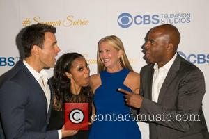 Cameron Mathison, Nischelle Turner, Nancy O'Dell and Kevin Frazier - Celebrities attend the 3rd Annual CBS Television Studios Rooftop Summer...