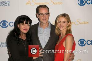 Pauley Perrette, Sean Murray and Emily Wickersham - Celebrities attend the 3rd Annual CBS Television Studios Rooftop Summer Soiree at...