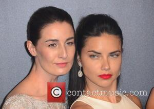 Erin O'connor and Adriana Lima