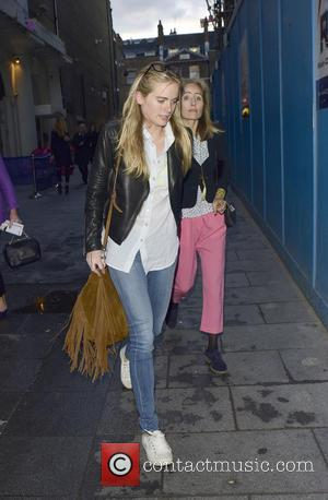 Cressida Bonas - Cressida Bonas leaving Leicester Square Theatre - LONDON, United Kingdom - Tuesday 19th May 2015