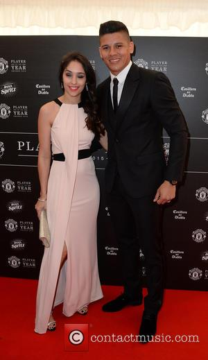 Manchester United, Marcus Rojo and Eugenia Lusardo