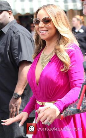 Mariah Carey - Mariah Carey arriving at 'Live! with Kelly and Michael' at Disneyland at Disneyland - Anaheim, California, United...