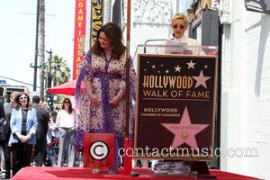 Melissa McCarthy and Ellen DeGeneres