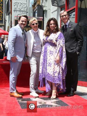 Ben Falcone, Ellen DeGeneres, Melissa McCarthy and Paul Feig