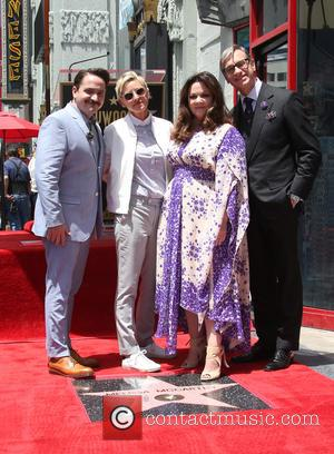Ben Falcone, Ellen DeGeneres, Melissa McCarthy and Paul Feig - American comedy actress Melissa McCarthy was photographed as she was...