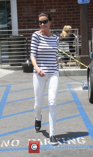 Janice Dickinson - Janice Dickinson goes shopping in Beverly Hills wearing nautical fashion - Los Angeles, California, United States -...