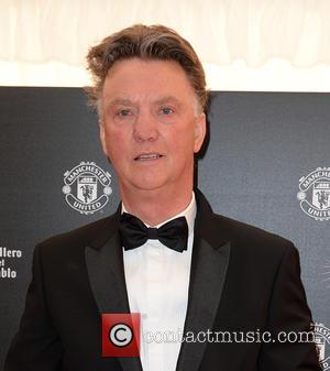 Louis van Gaal - Celebrities arrive at Manchester United Football Club, Old Trafford, Manchester Manchester United Player Of The Year...