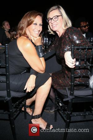 Donna Karan and Chantal Gaemperle - The New School Parsons honor Louis Vuitton, Moet Hennessy and Marc Jacobs at the...