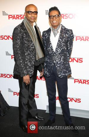 B Michael and Marc Anthony Edwards - The New School Parsons honor Louis Vuitton, Moet Hennessy and Marc Jacobs at...