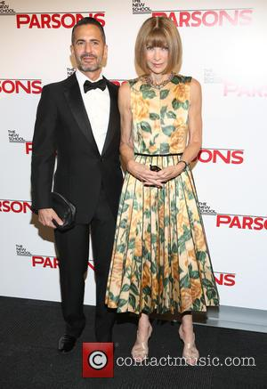 Marc Jacobs and Anna Wintour - The New School Parsons honor Louis Vuitton, Moet Hennessy and Marc Jacobs at the...