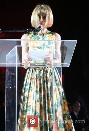 Anna Wintour - The New School Parsons honor Louis Vuitton, Moet Hennessy and Marc Jacobs at the 67th Annual Parsons...