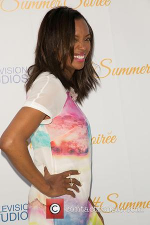 Aisha Tyler - Celebrities attend the 3rd Annual CBS Television Studios Rooftop Summer Soiree at The London Hotel. at The...