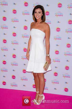 Lucy Mecklenburgh - Lorraine's High Street Fashion Awards 2015 at the Soho Sanctum Hotel - Arrivals - London, United Kingdom...