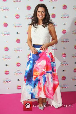 Susanna Reid - Lorraine's High Street Fashion Awards held at  Grand Connaught Rooms - Arrivals - London, United Kingdom...
