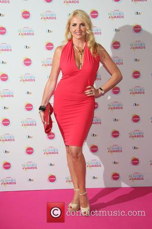 Nancy Sorrell - Lorraine's High Street Fashion Awards held at  Grand Connaught Rooms - Arrivals - London, United Kingdom...