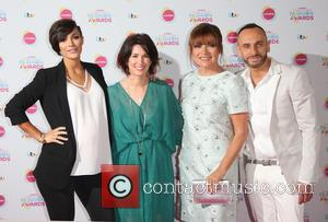 Frankie Bridge, Lynne Mckenna, Lorraine Kelly and Mark Heyes - Lorraine's High Street Fashion Awards held at  Grand Connaught...