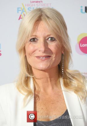 Gaby Roslin - Lorraine's High Street Fashion Awards held at  Grand Connaught Rooms - Arrivals - London, United Kingdom...