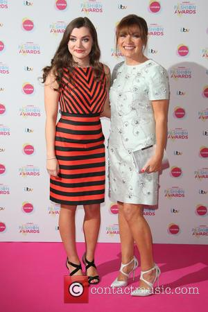 Lorraine Kelly and daughter Rosie Smith - Lorraine's High Street Fashion Awards held at  Grand Connaught Rooms - Arrivals...