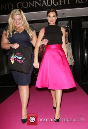 Gemma Collins and Jessica Wright - Lorraine's High Street Fashion Awards 2015 at the Soho Sanctum Hotel - Departures at...