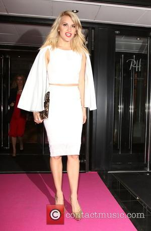 Ashley Roberts - Lorraine's High Street Fashion Awards 2015 at the Soho Sanctum Hotel - Departures at Covent Garden, London...