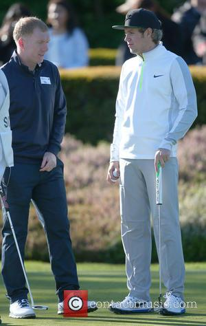 Paul Scholes and Niall Horan