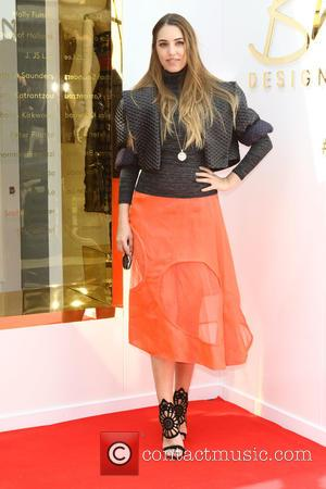 Amber Le Bon - British Designer Collective Launch at Bicester Village, Oxfordshire at Bicester Village Outlet Centre - Bicester, United...