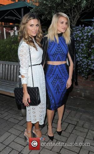 Zoe Hardman and Ashley Roberts