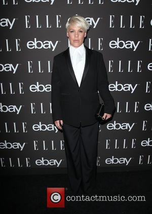 Pink and Alicia Moore - 6th Annual ELLE Women In Music Celebration presented by eBay - Arrivals at BOULEVARD3 -...