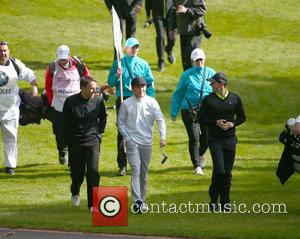 Phil Neville, Rory Mcilroy and Niall Horan