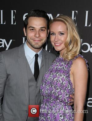 Skylar Astin and Anna Camp - 6th Annual ELLE Women In Music Celebration Presented By eBay held at Boulevard 3...