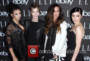 Tinashe, Editor-in-Chief at Elle Magazine Robbie Myers, Alanis Morissette and Banks - A host of stars were photographed as they...