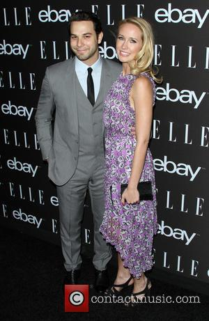 Skylar Astin and Anna Camp - A host of stars were photographed as they arrived to the 6th Annual ELLE...