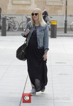 Fearne Cotton - Fearne Cotton arriving at the BBC Radio 1 studios - London, United Kingdom - Wednesday 20th May...