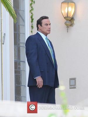 John Travolta - Actor John Travolta on the set of