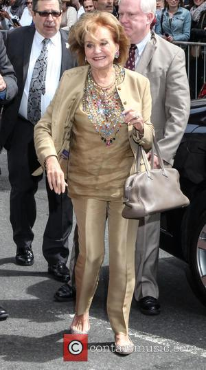 Barbara Walters - A host of stars were snapped outside the Ed Sullivan Theater ahead of the last 'Late Show...