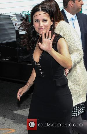 Julia Louis-Dreyfus - A host of stars were snapped outside the Ed Sullivan Theater ahead of the last 'Late Show...
